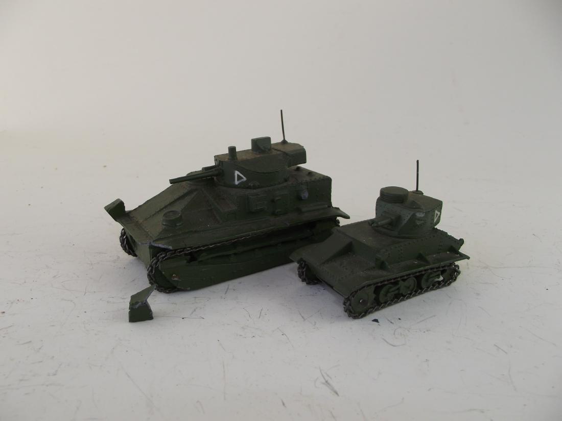 Dinky Two British Tanks
