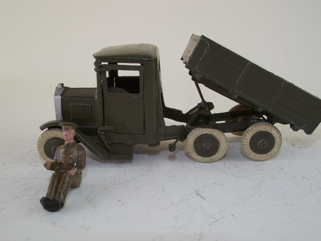 Britains #1334 Army Lorry W Driver, Tipping