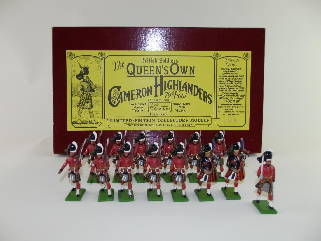 Britains #5183 Cameron Highlanders
