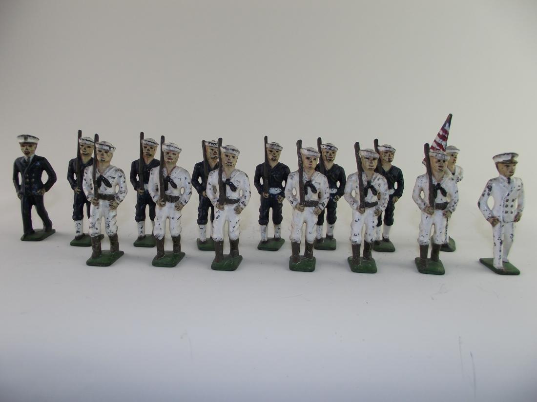 Dimestore Group Grey Iron US Sailors