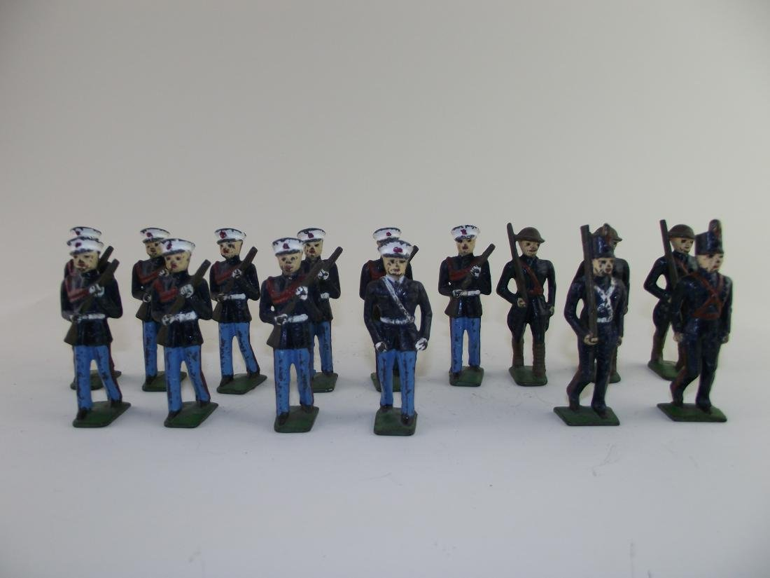 Dimestore Group Grey Iron US Marines & Cadets