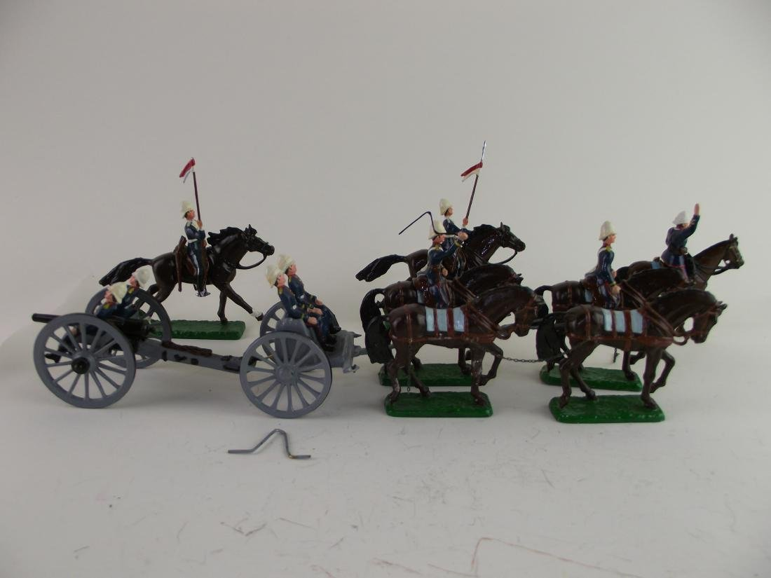 21st Lancers and Gun Carriage