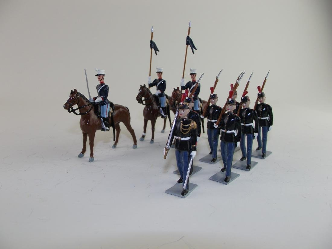 French Foot and Mounted Troops