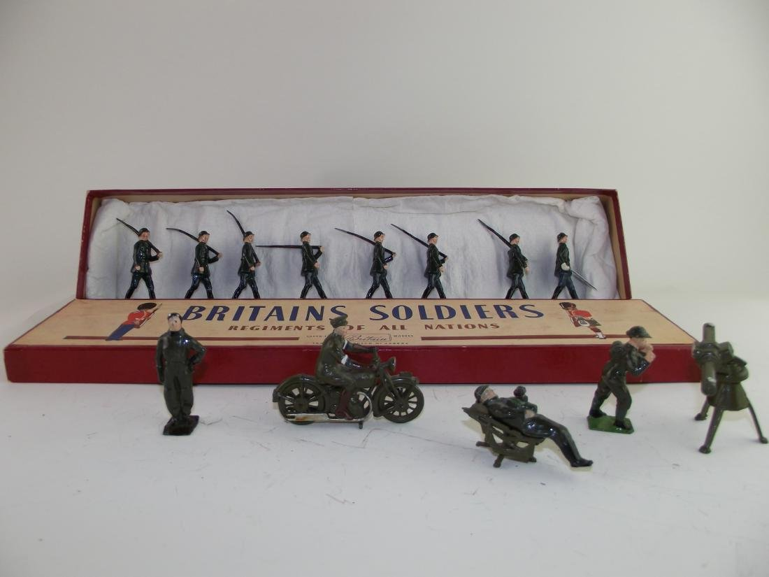 Britains # 432 German Infantry & Others