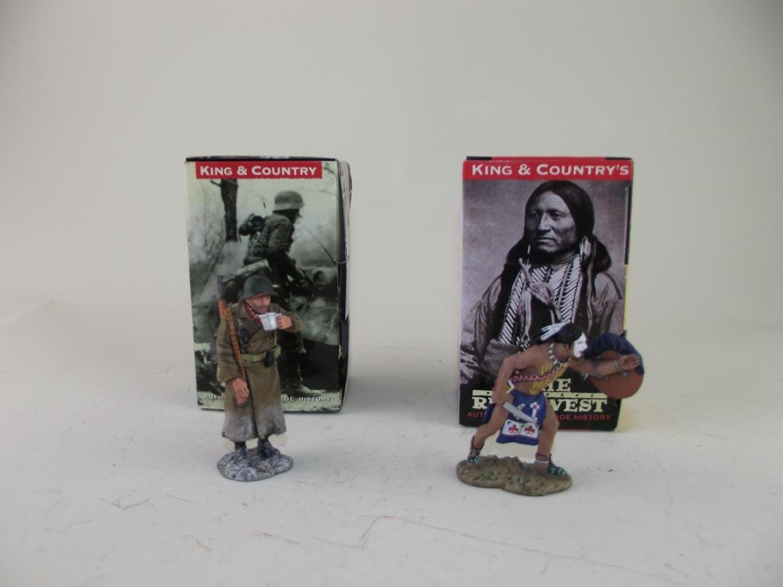 King & Country True West Battle of the Bulge GI's
