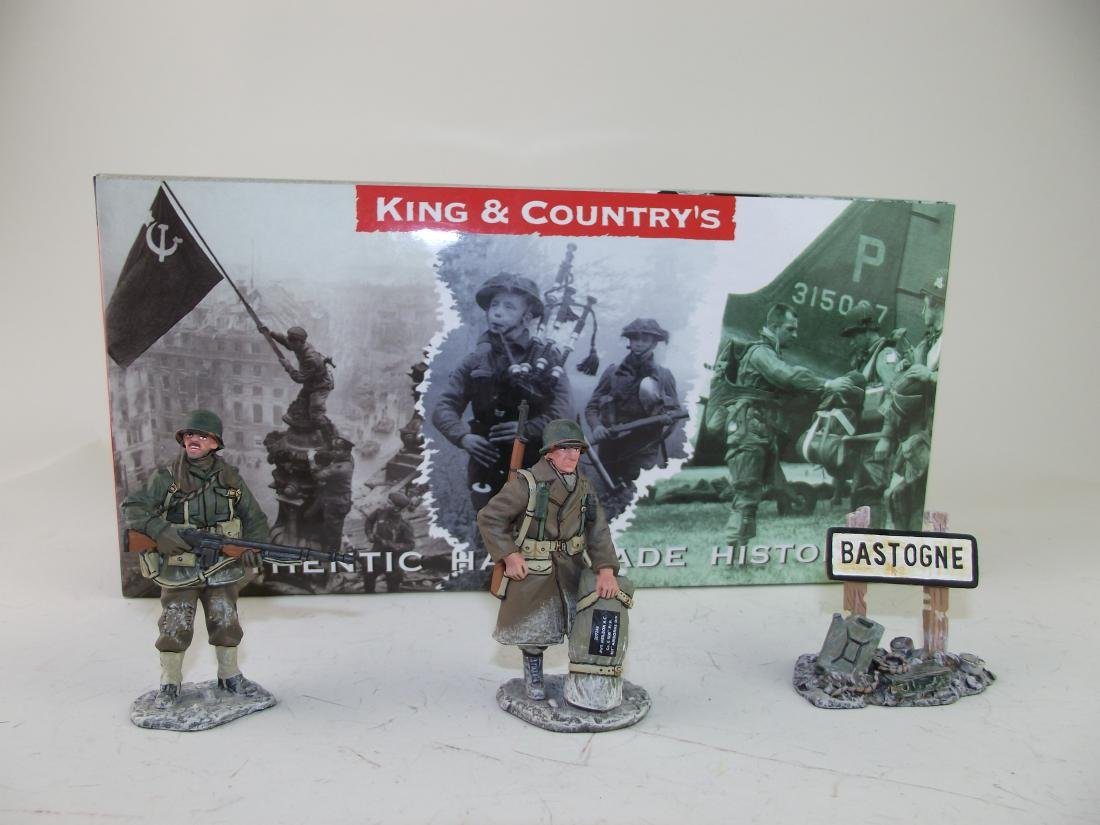 King & Country Battle of the Bulge GI's