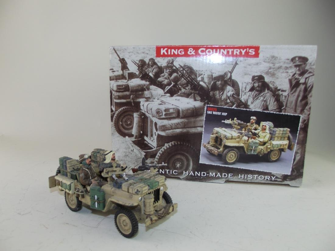 King & Country SAS Reece Jeep