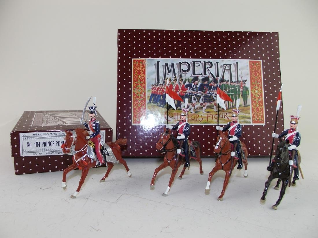 Imperial Polish Lancers and Prince