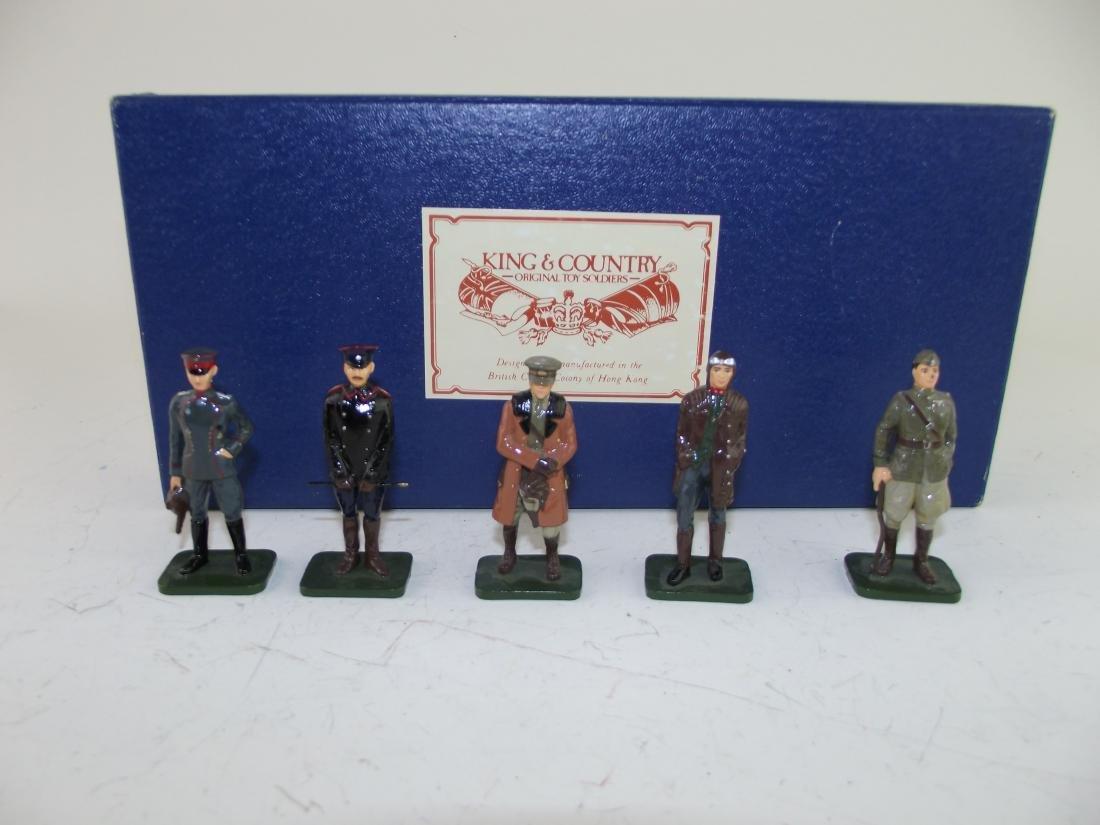 King & Country Rare Glossy Pilots Boxed