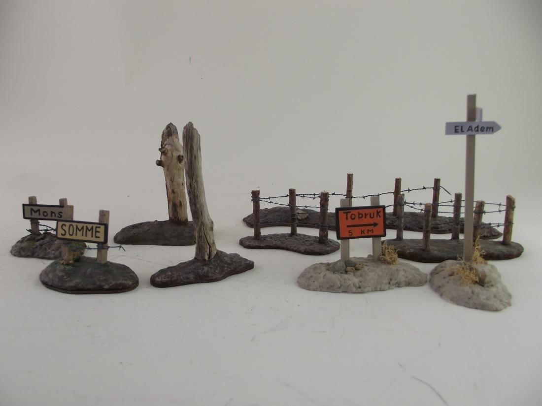Diorama Battlefield Pieces