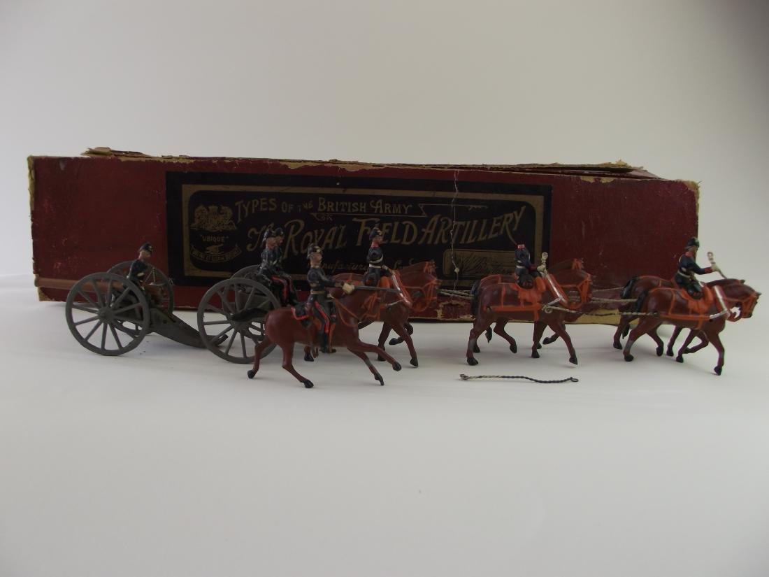 Britains Royal Field Artillery Set No 144