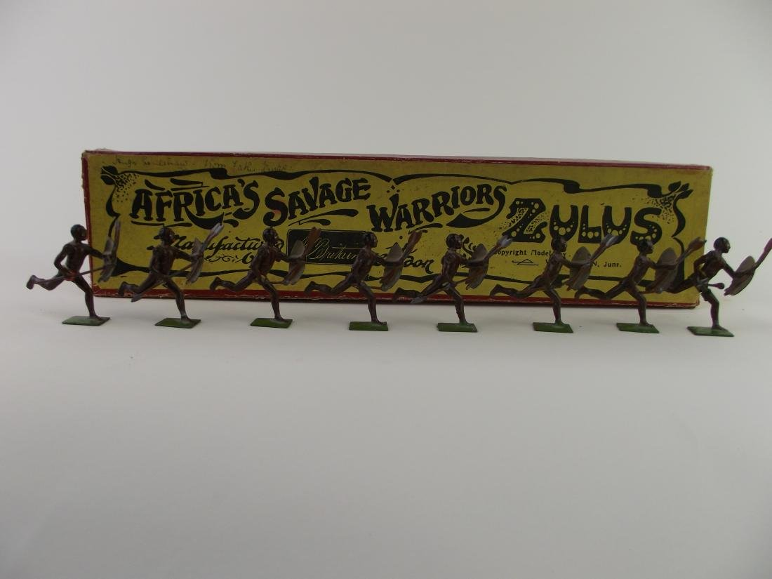 Britains Africa's Warriors Zulus Set No. 147