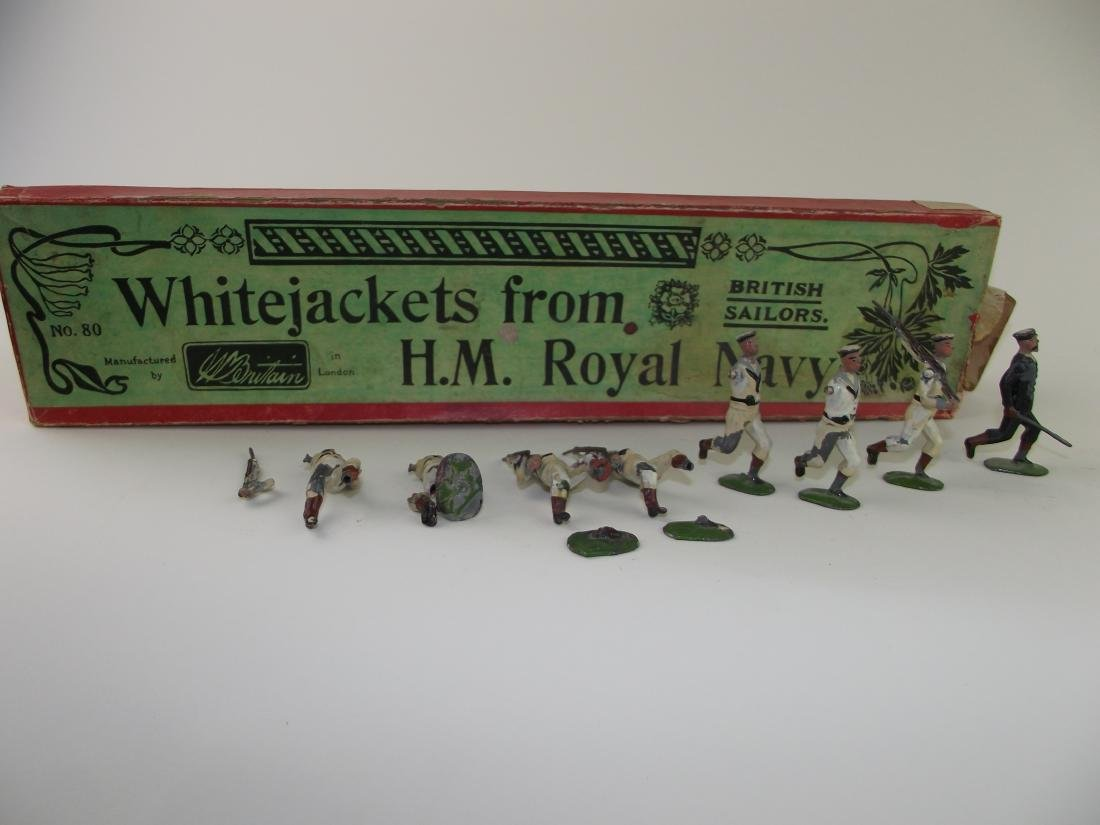 Britains Whitejackets From HM Navy Set No. 80