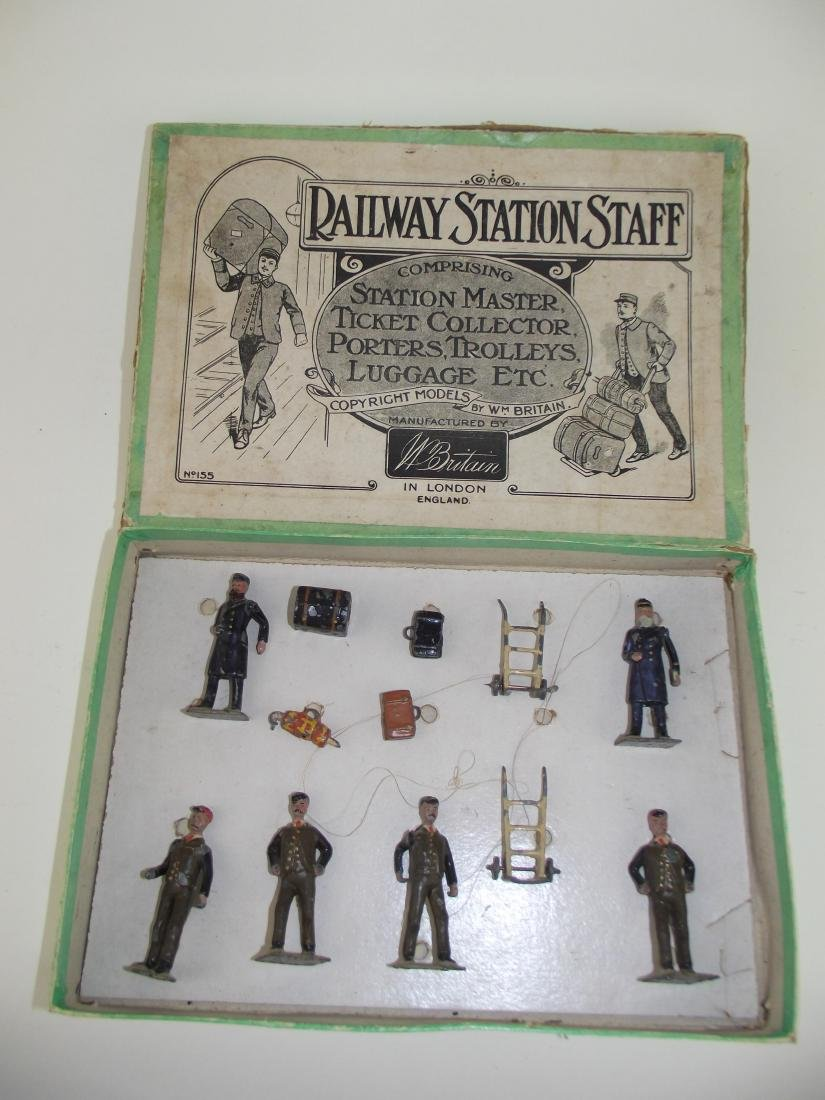 Britains Railway Station Staff Set No. 155