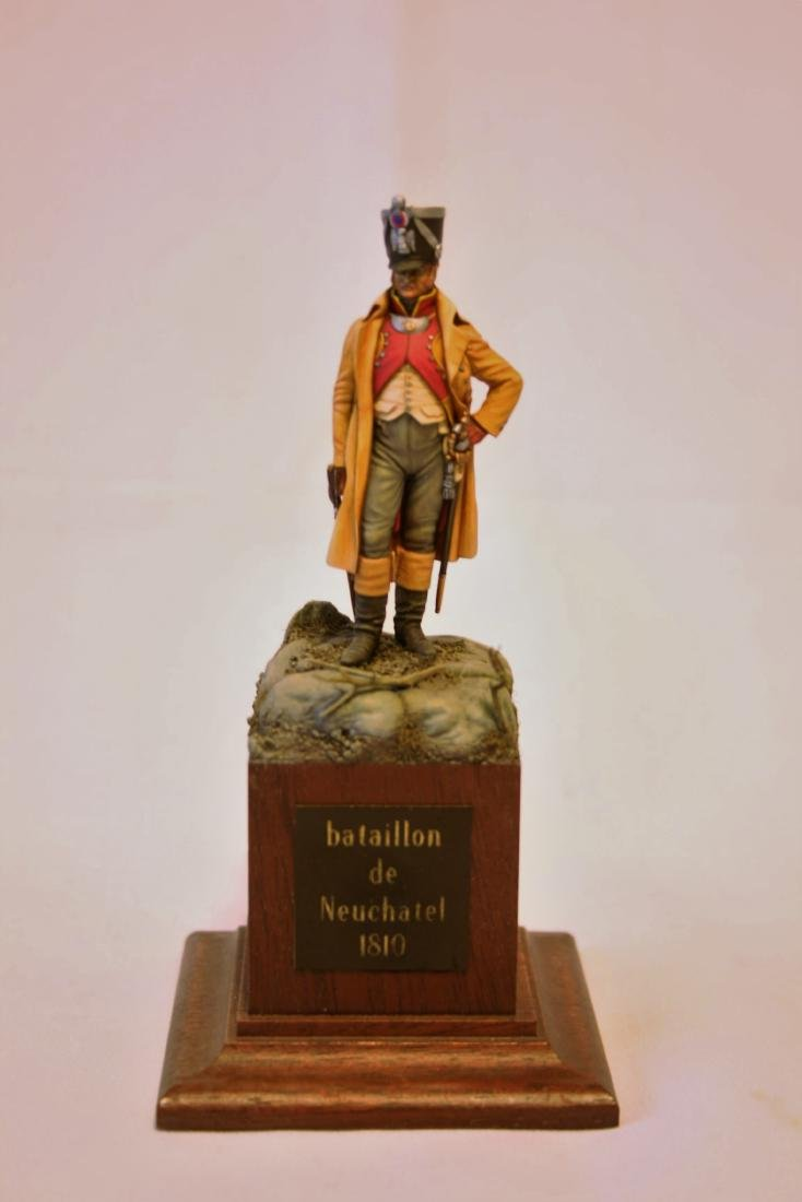 Napoleonic Military Miniature by T.D. Holtz
