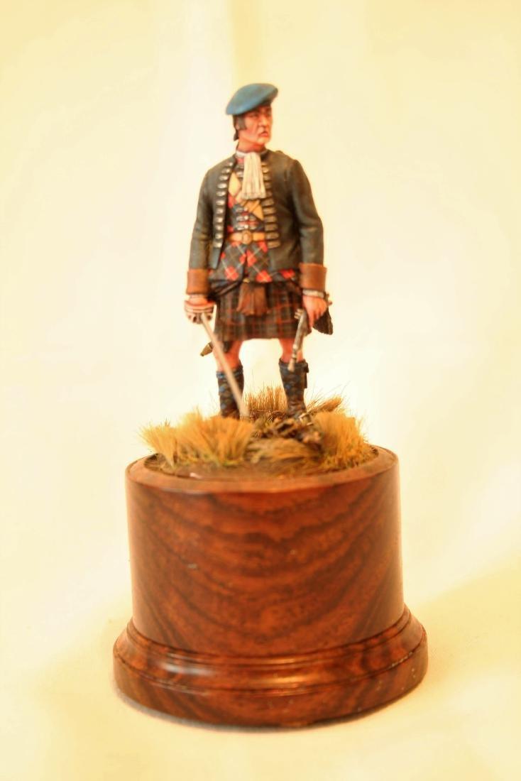 18th Cent. Highlander Mil Miniature by Kowalski