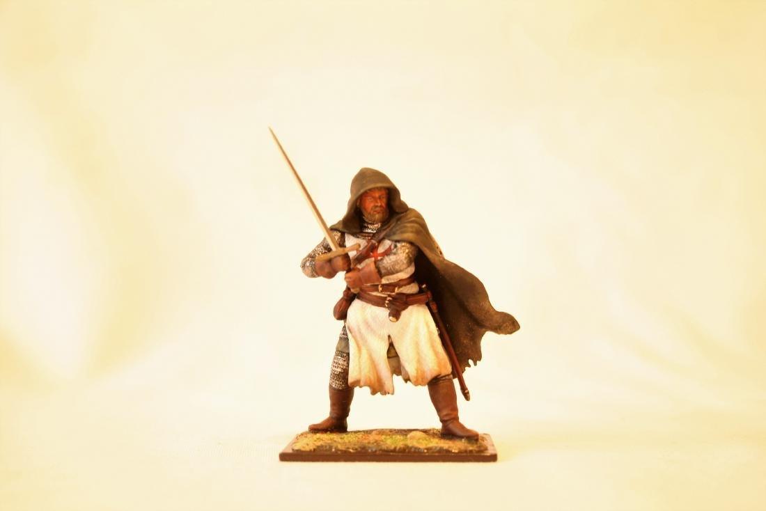 Medieval Templar Crusader Knight on Foot