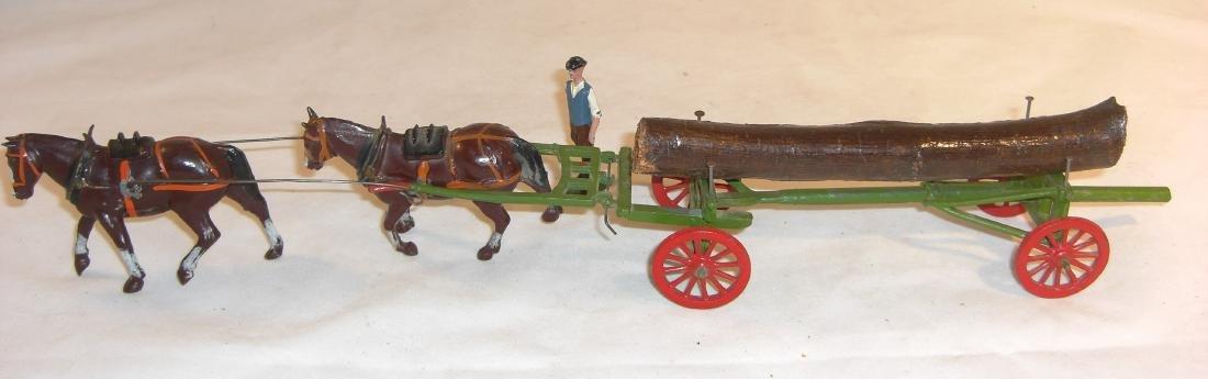 Britains Farm #12F Timber Wagon