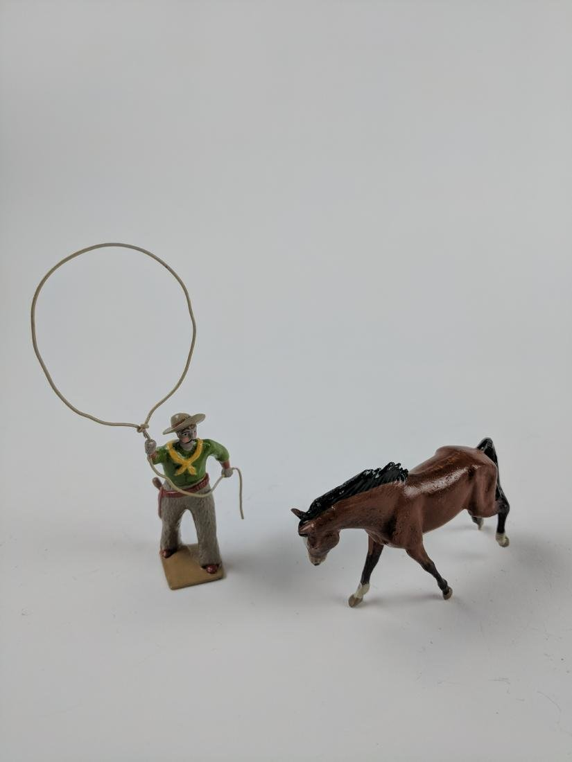 Bill O'Brien Special Paint Cowboy with Lasso