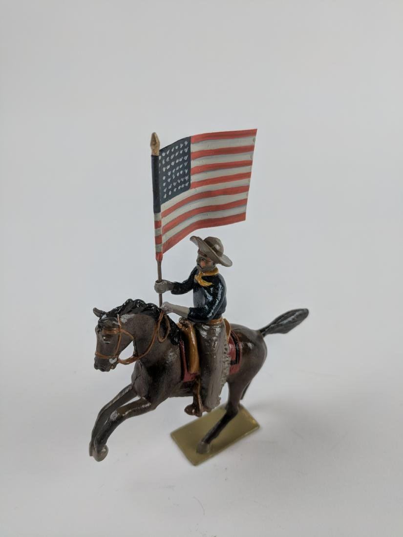Bill O'Brien Special Paint Cowboy with Flag