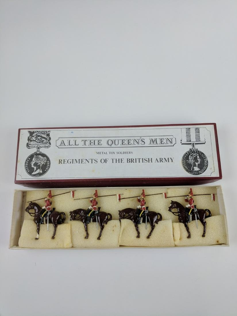 AQM TB43 1st Dragoons with Lances