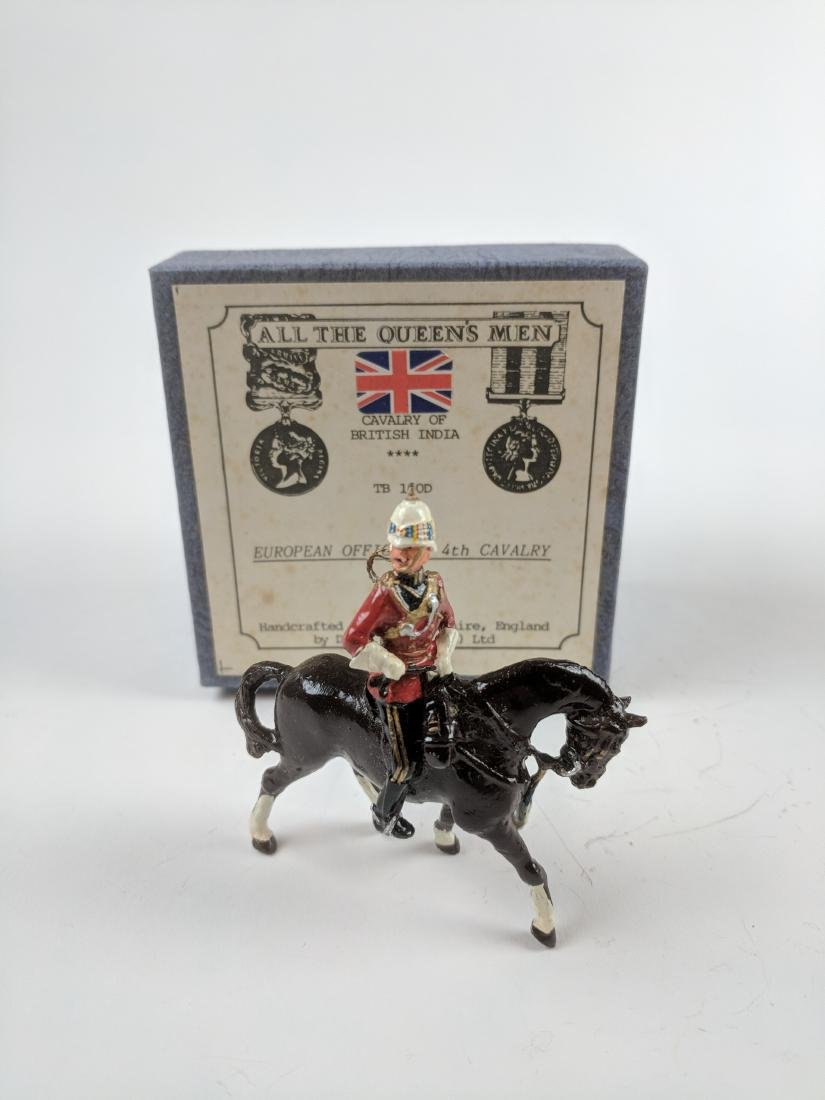 AQM TB160B Indian 4th Cavalry European Officer