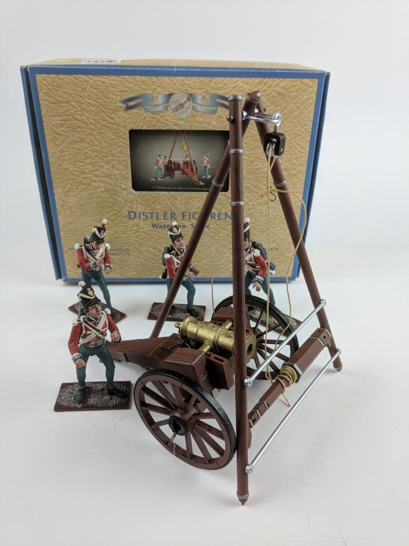 Distler British Artillery 1/24 Scale