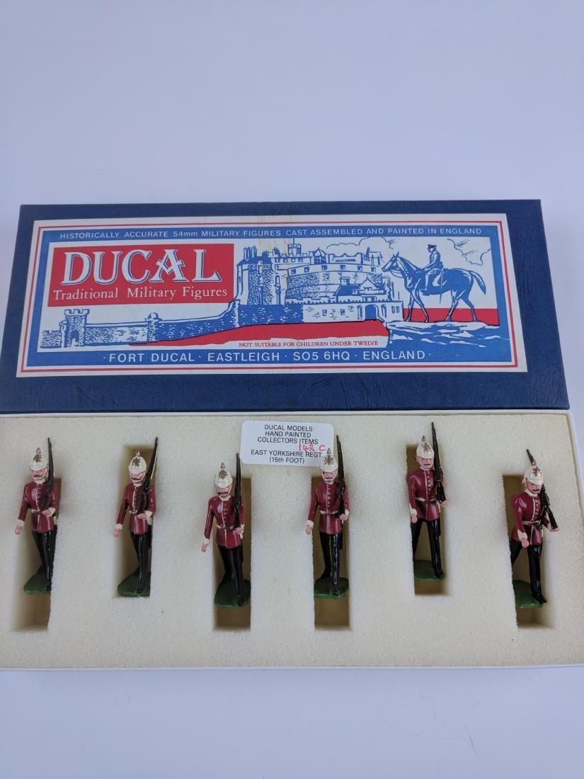 Ducal 142C East Yorkshire Light Infantry Marching
