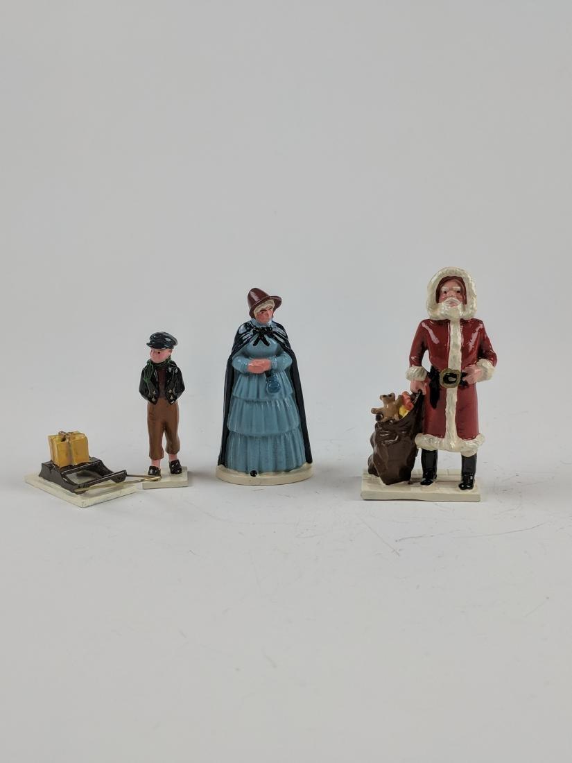Trophy Boy Pulling Sled & Santa