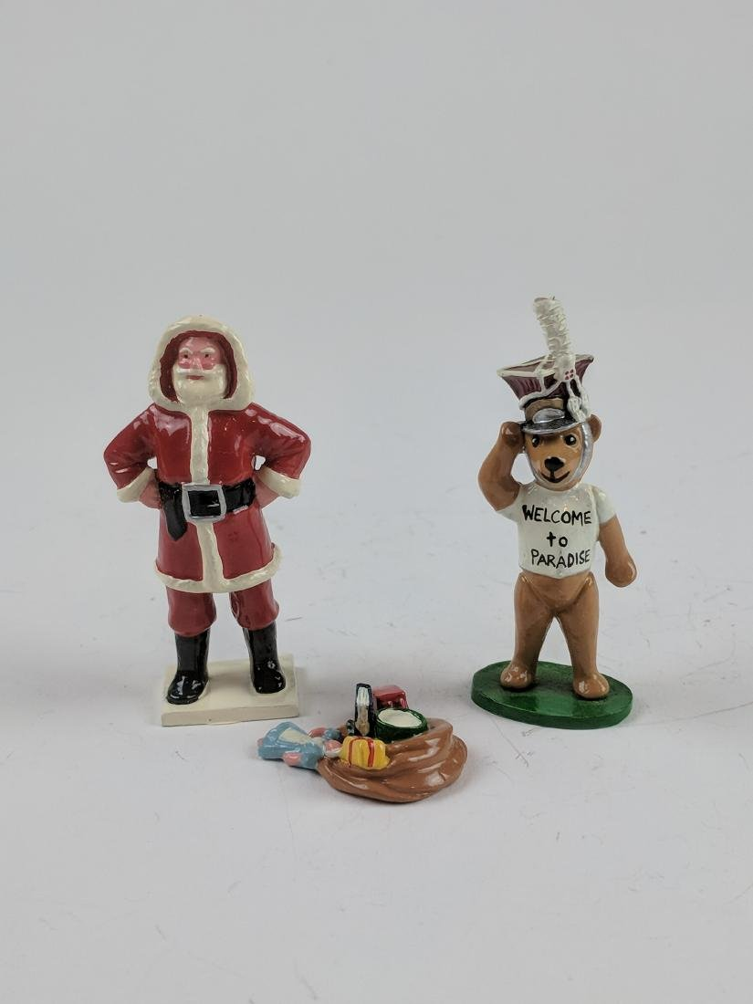 Trophy Santa & Bear
