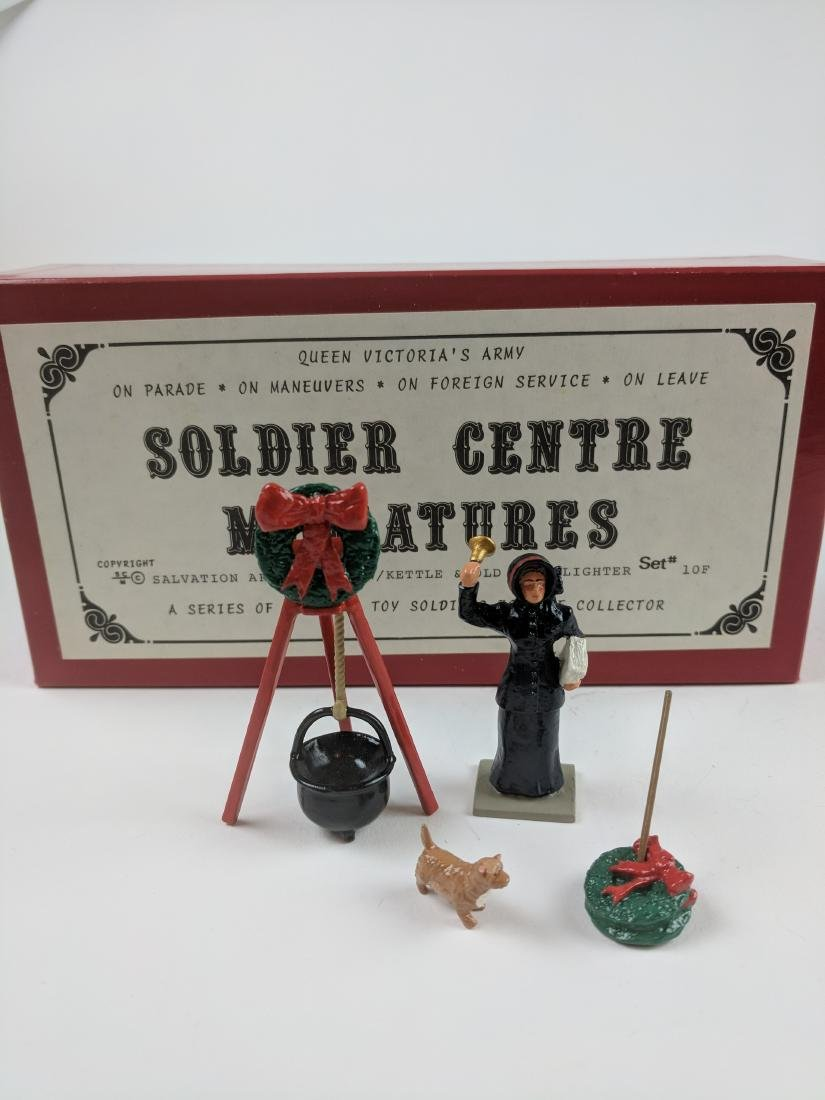 Soldier Centre 10F Salvation Army Kettle