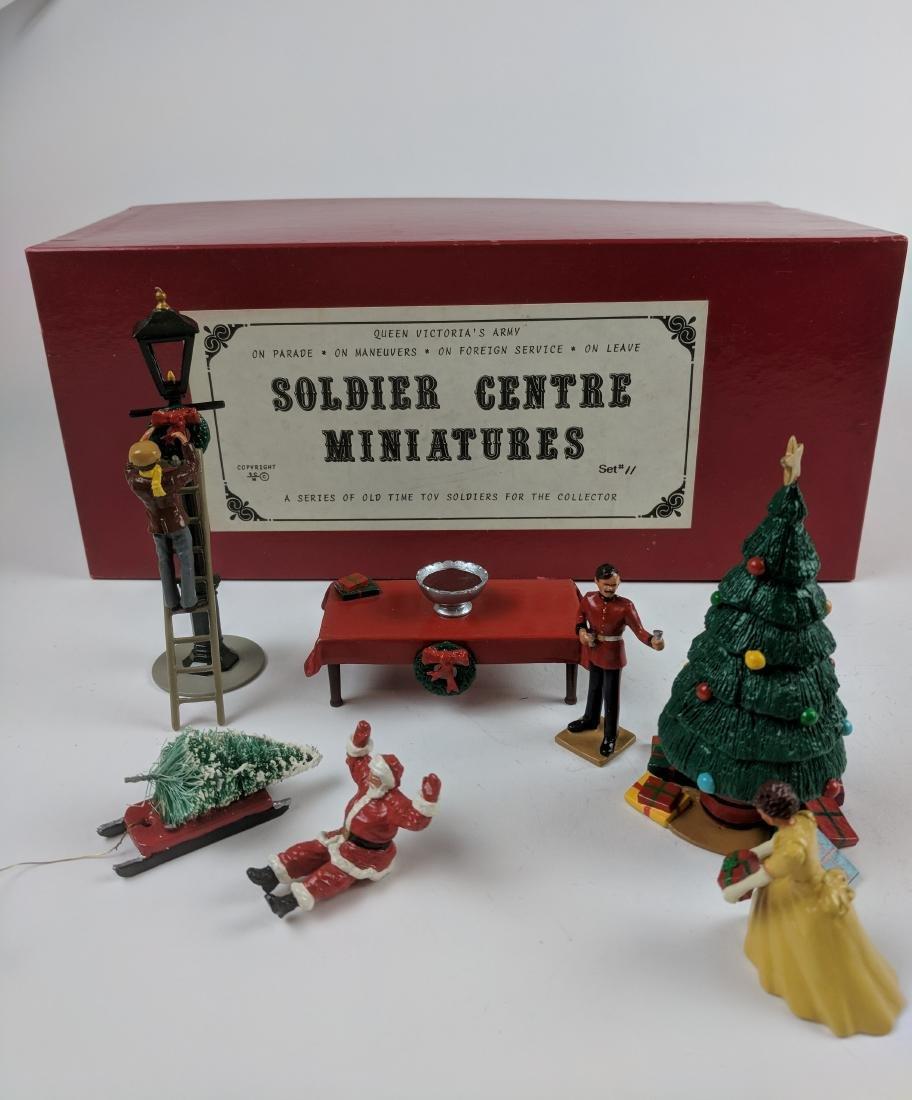 Soldier Centre Set 11 Christmas Scenes