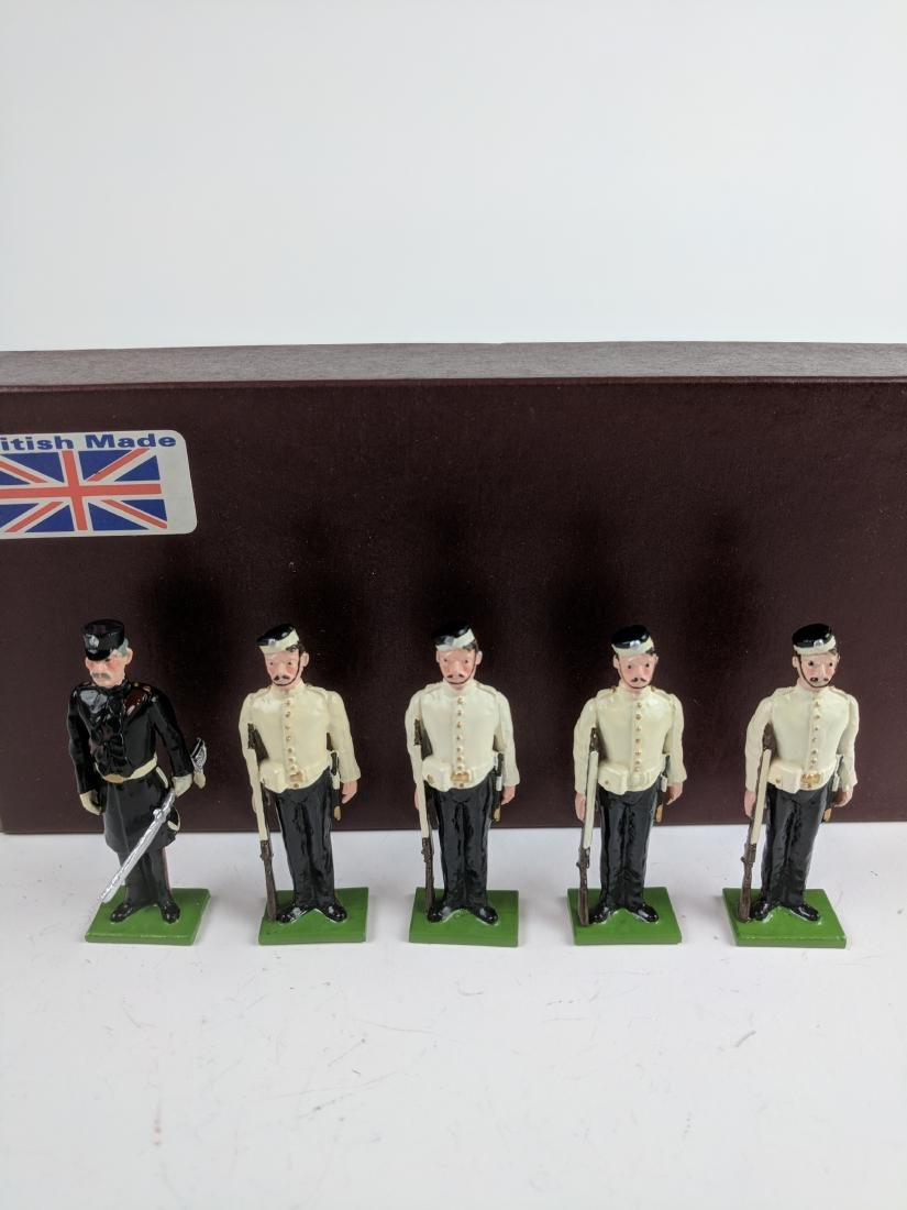 S & S Miniatures Guards at Attention