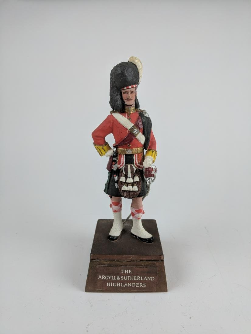 Sentry Box Officer of Argyll and Sutherland
