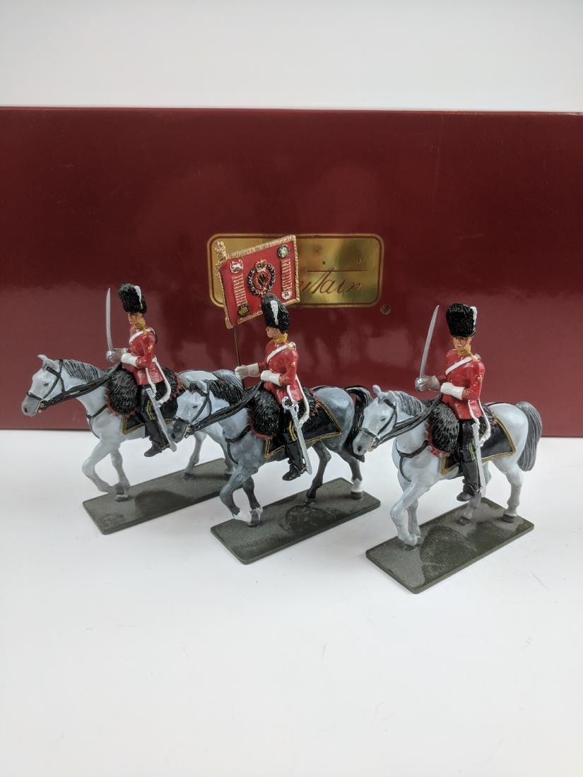 Britains 48010 Royal Scots Dragoon Standard Party