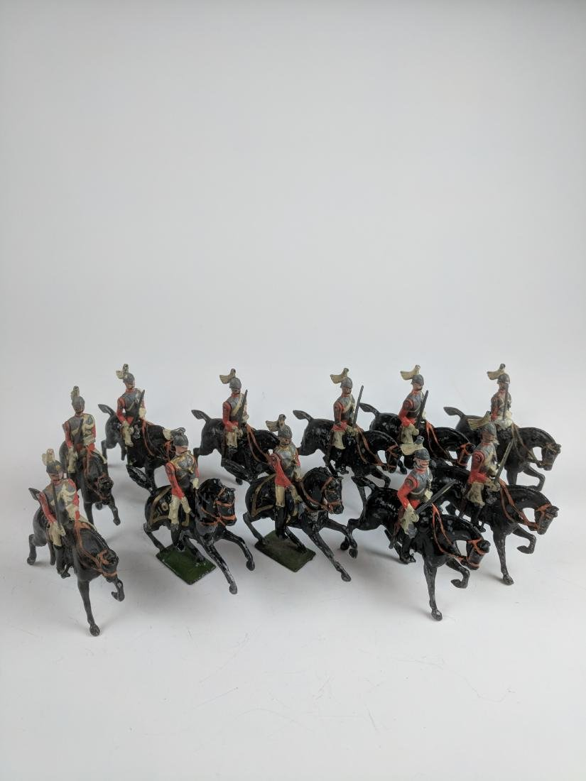 Britains  Life Guards Early 1 Ear Horses