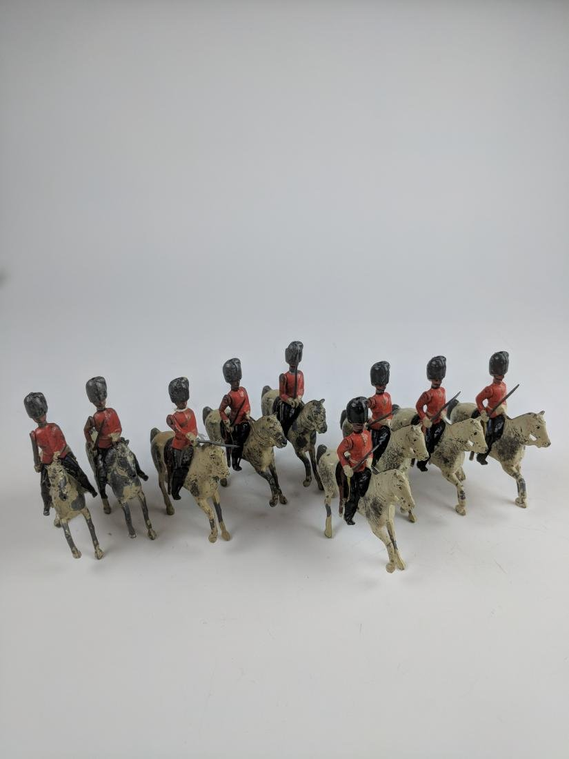 Britains Set 32 Scots Greys Dated Horses Pre War