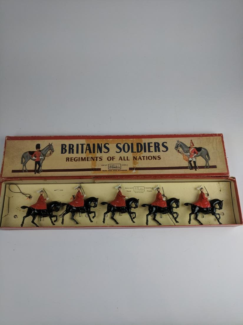 Britains Set 400 Life Guards with Cloaks
