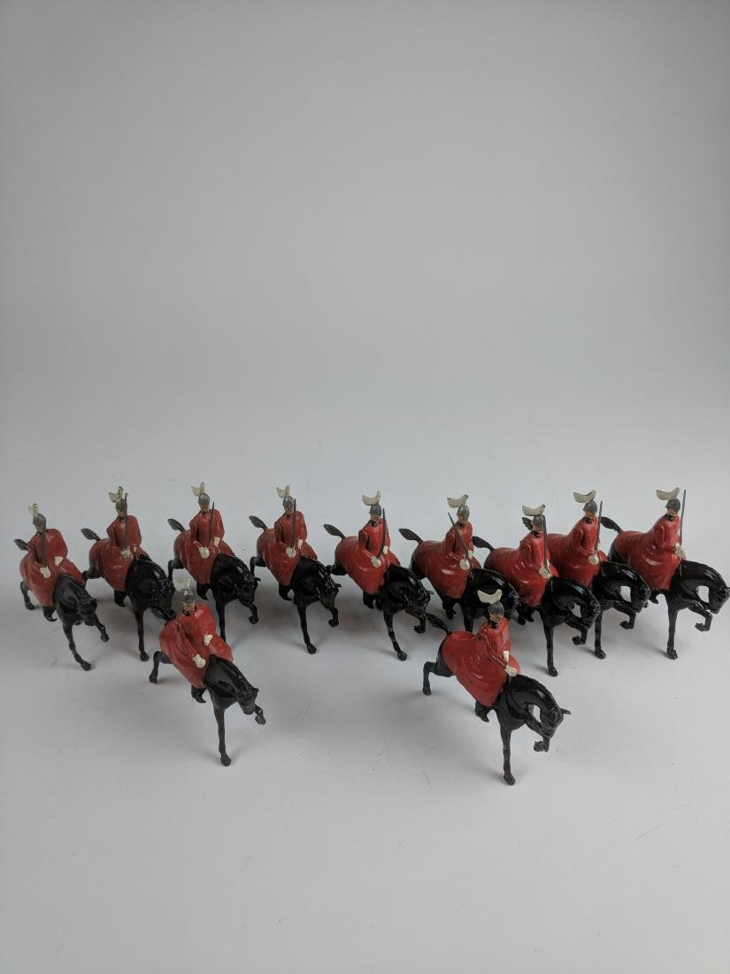 Britains from Set #400 Life Guards with Cloaks