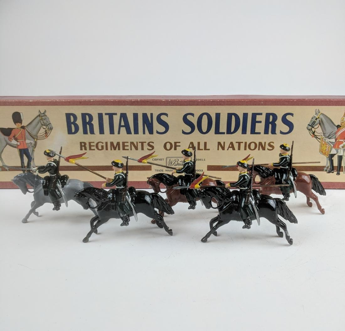 Britains Set 136 Cossacks Mounted