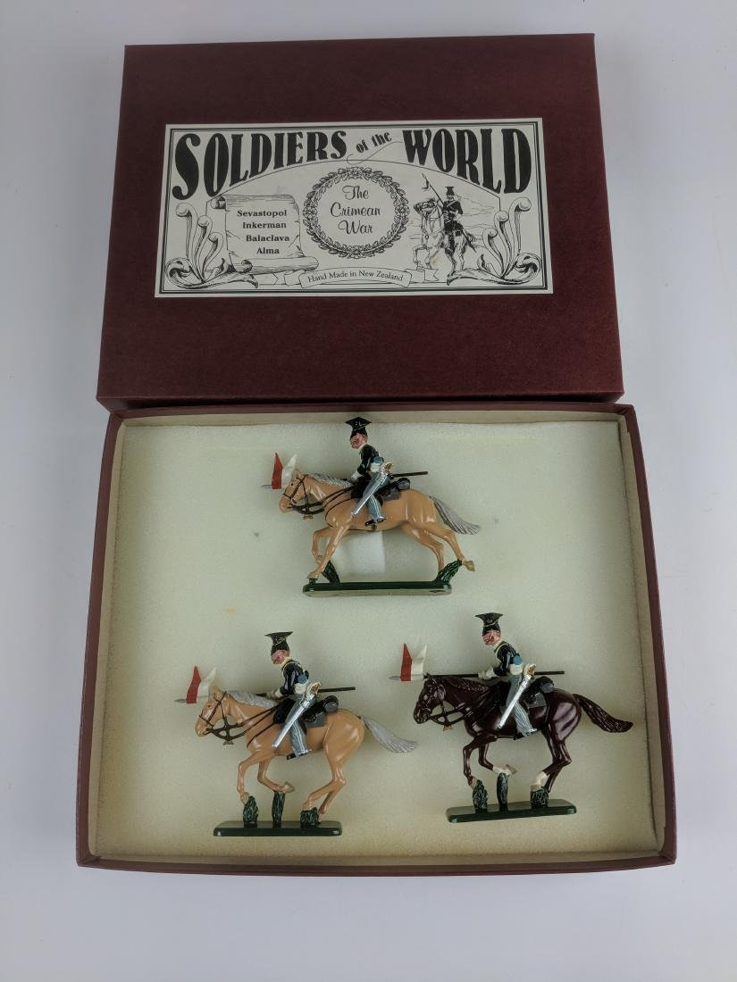 Soldiers Of The World  CW6 17th Lancers 1854