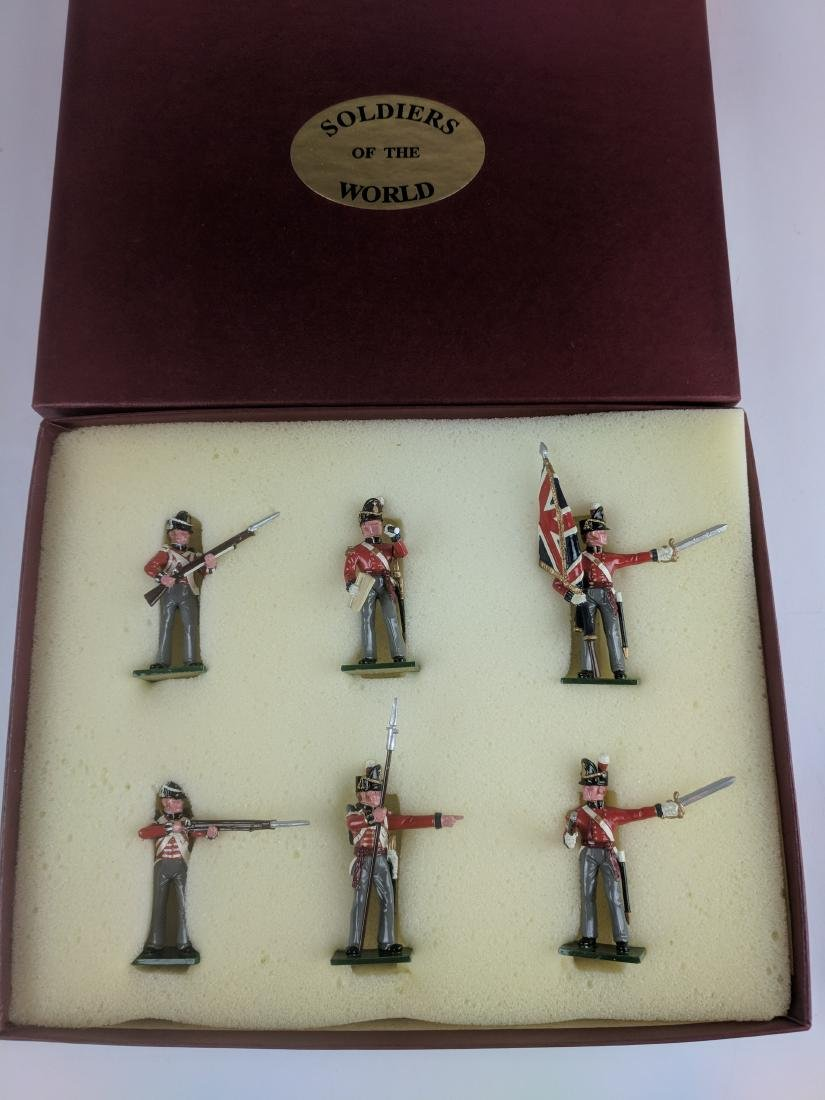 Soldiers Of The World BN1 British Command Set 1815