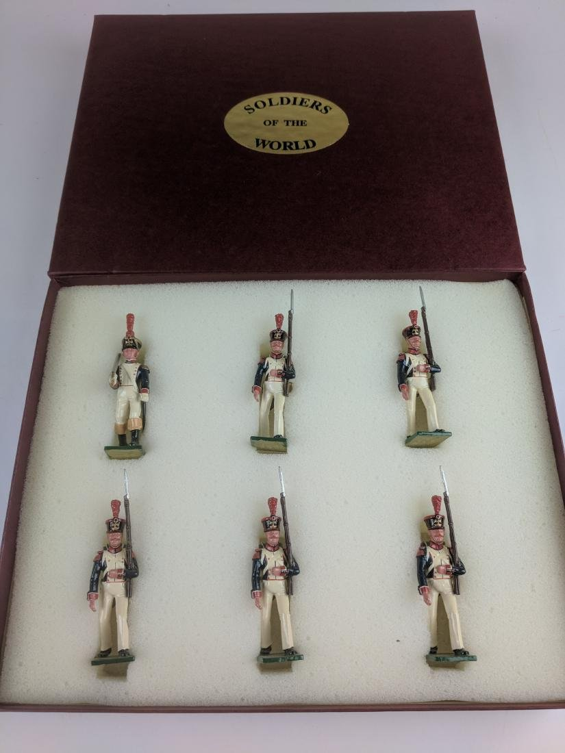 Soldiers Of The World Fusilier 1st Swiss 1812