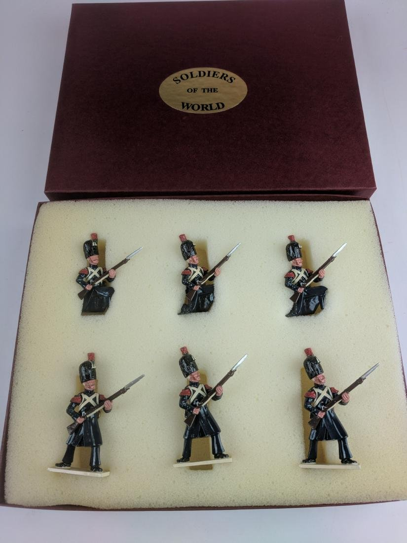 Soldiers Of The World N127 Foot Chasseurs