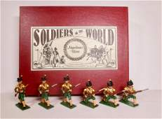 Soldiers Of The World N298 Corsican Light Infantry