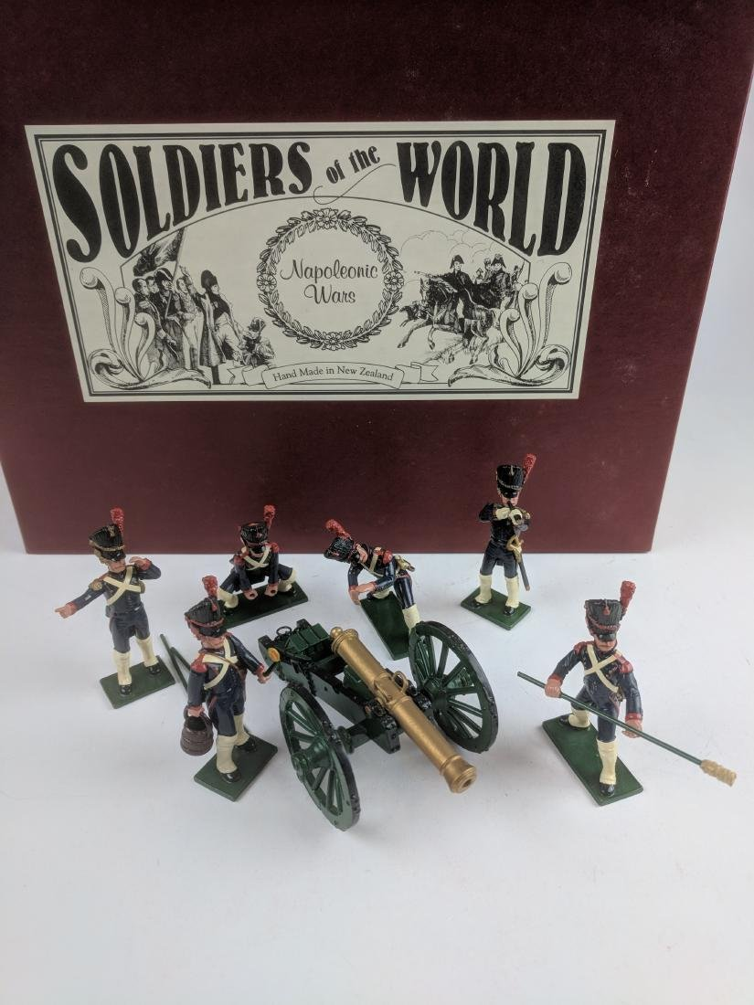 Soldiers Of The World N327D French Artillery