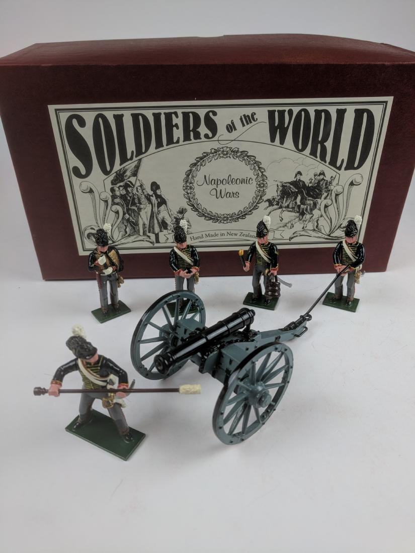 Soldiers Of The World N412/A British Artillery