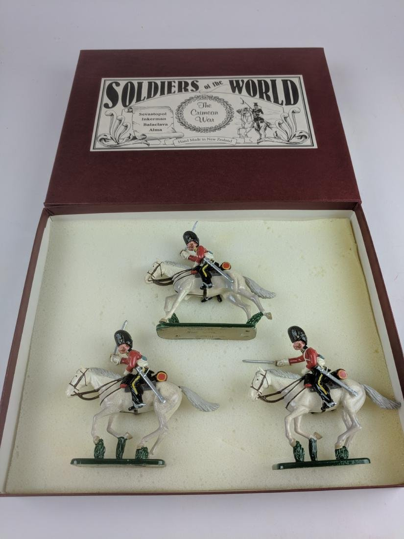 Soldiers Of The World CW12 Scots Grey 2nd Dragoons