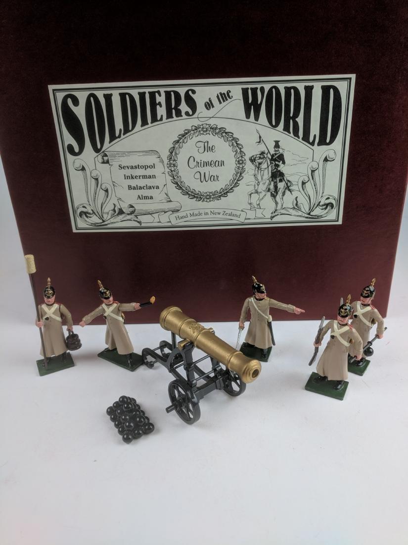 Soldiers Of The World CW37/A Russian Garrison Gun
