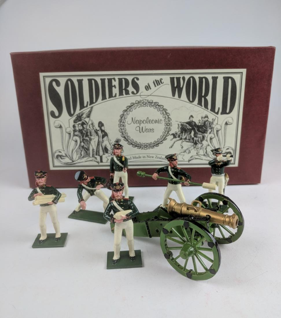 Soldiers Of The World N418/B Russian Artillery